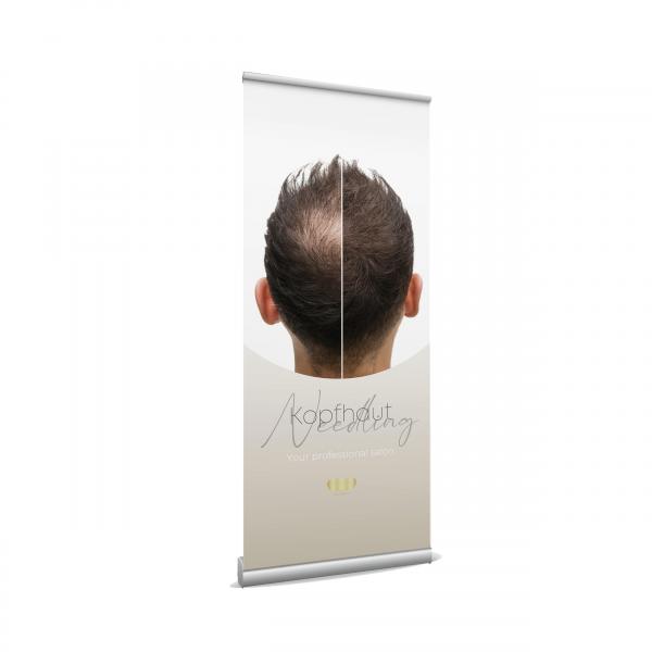 Roll up Banner - Needling Haarwachstum