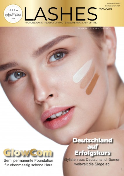 Lashes Magazin by CFB Cosmetics Ausgabe 1u2 2019 Juni