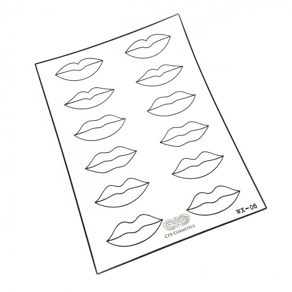 CFB Übungshaut Lippen