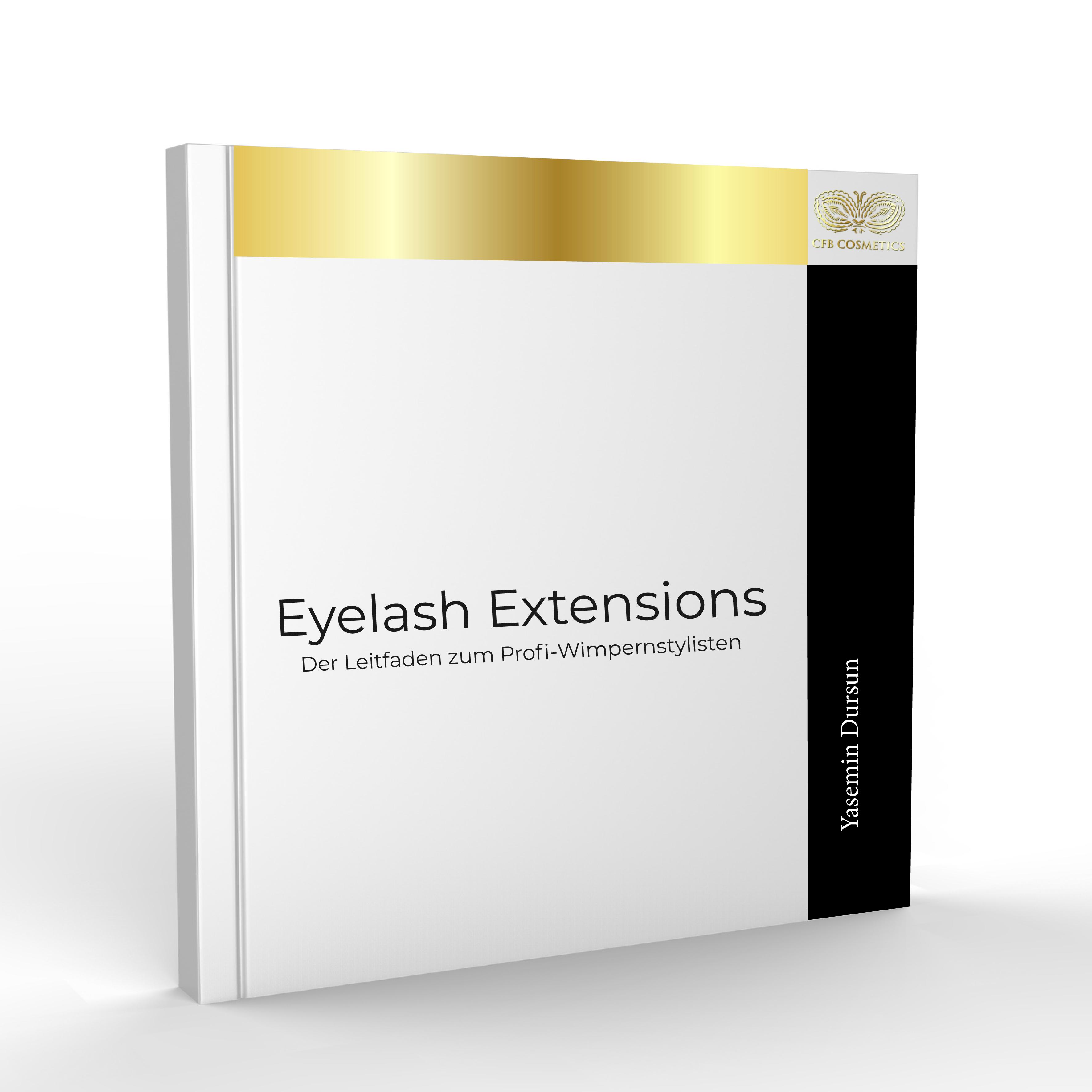"""Das Buch """"Eyelash Extensions"""" Ein Nachschlagewerk für alle Profis und die die es werden wollen"""