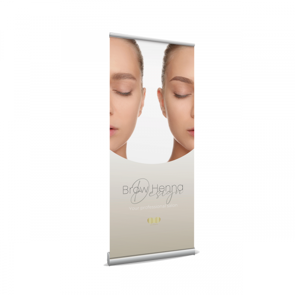 Roll up Banner - Brow Henna