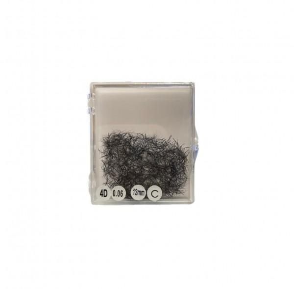Prefanned Lashes Vorteilspack | 1000 Fächer pro Tray | Stärke 0,06 D 5D