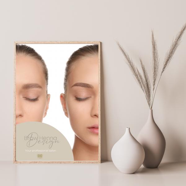 Poster Brow Henna | DINA1