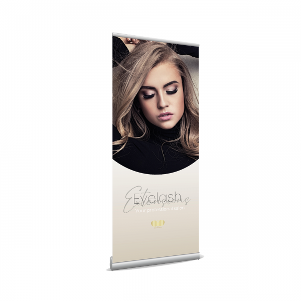 Roll up Banner - Wimpern / Lashes
