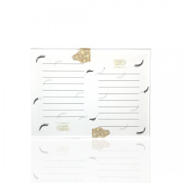 Wimpernplatte | groß | 150x200x6mm | Acrylglas