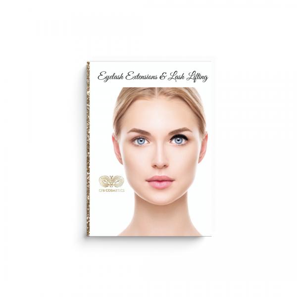 Kundenfragebogen | Wimpernverlängerung & Lash Lifting | inkl. Karteikarte & Designs | hell