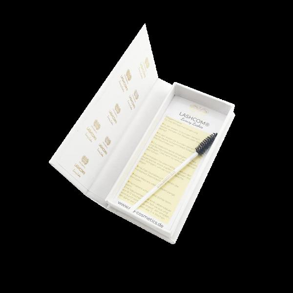Pflegehinweisebox | Wimpernverlängerung | inkl Mascarabürste
