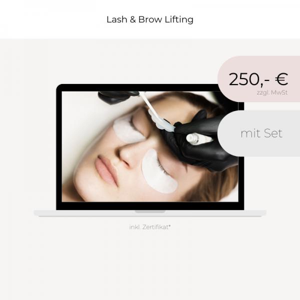 Online Schulung | Lash & Brow Lifting | mit Set