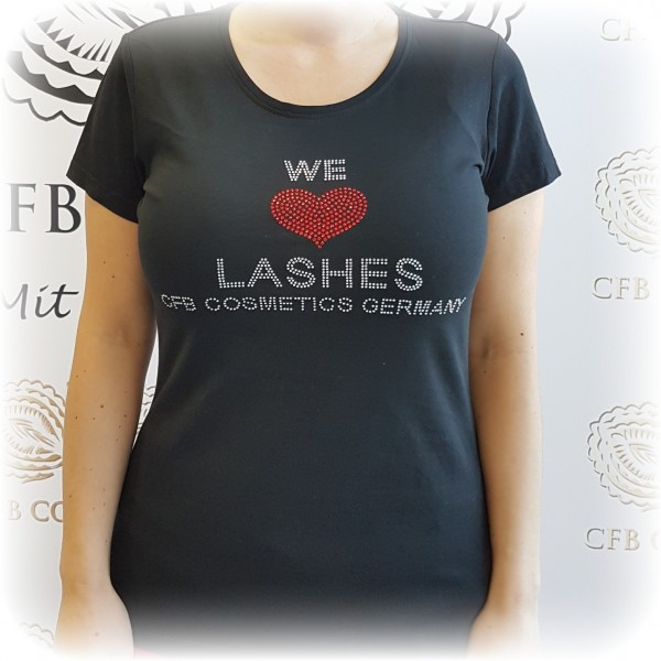 Strass Logo We Love Lashes