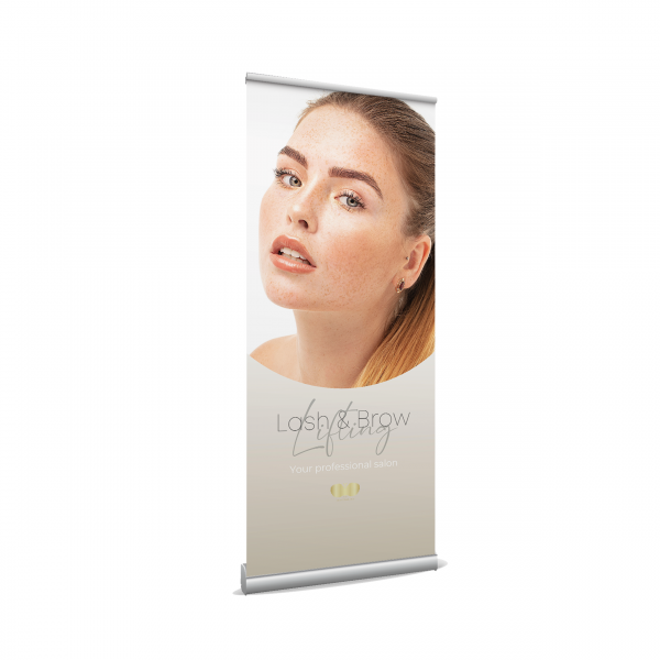 Roll up Banner - Lash & Brow Lifting