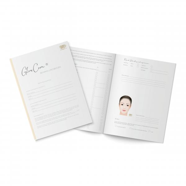 Customer Questionnaire - Eyelash Extension & Lash Lifting 2-sided sheet