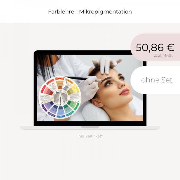 Online Schulung   Farblehre Mikropigmentation   ohne Set