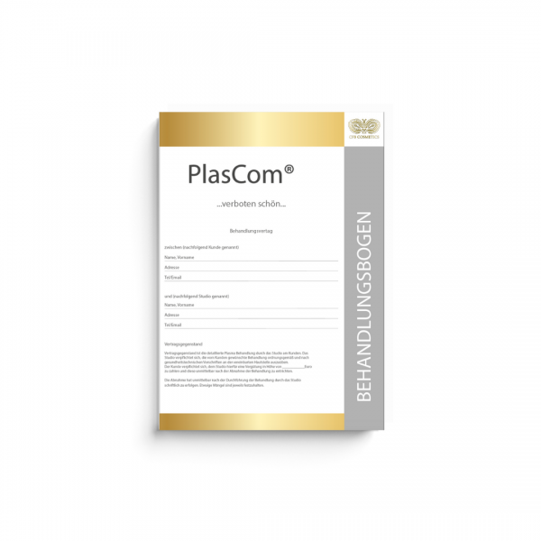Plascom® treatment sheet