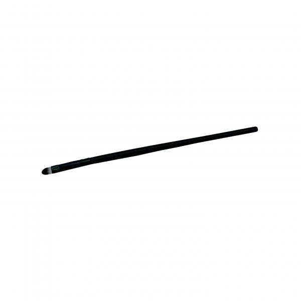 Pinsel oval - schwarz