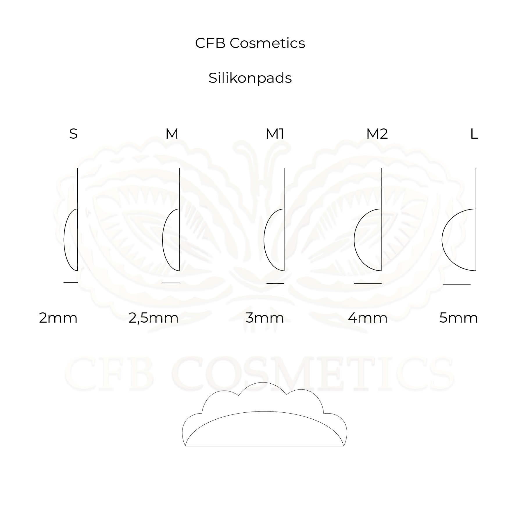 Silikonpads für das Lash Lifting / Laminierung im Vergleich