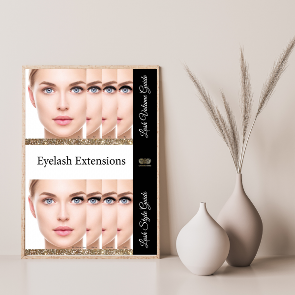 Poster Lash Style & Volume Guide
