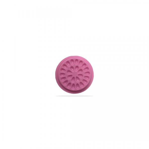 Adhesive drop cup | transparent | 5pcs