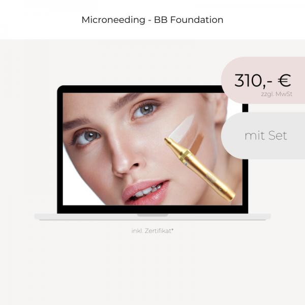 Online Schulung   Microneedling   BB Foundation   mit Set