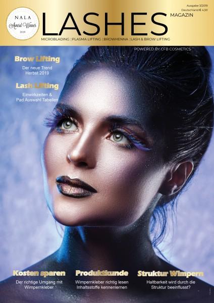 Lashes Magazin by CFB Cosmetics Ausgabe 3/2019 September
